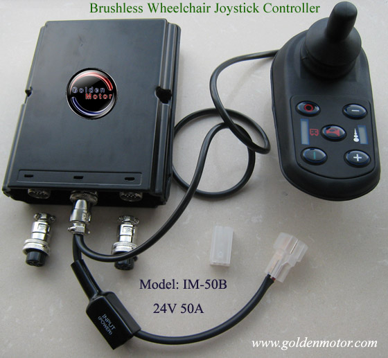 electric wheelchair controller, power wheelcahir controller, brushless wheelchair controller