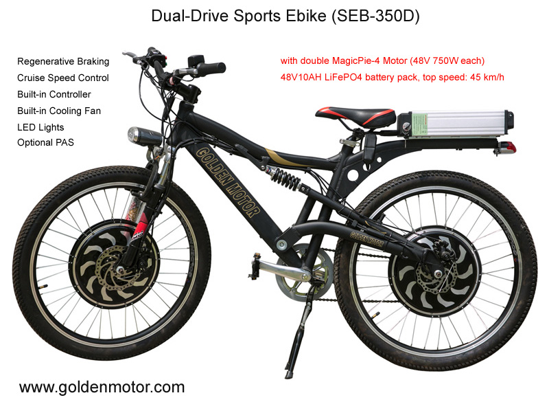 Electric Bikes Ebike Battery Powered Bike Hub Motor