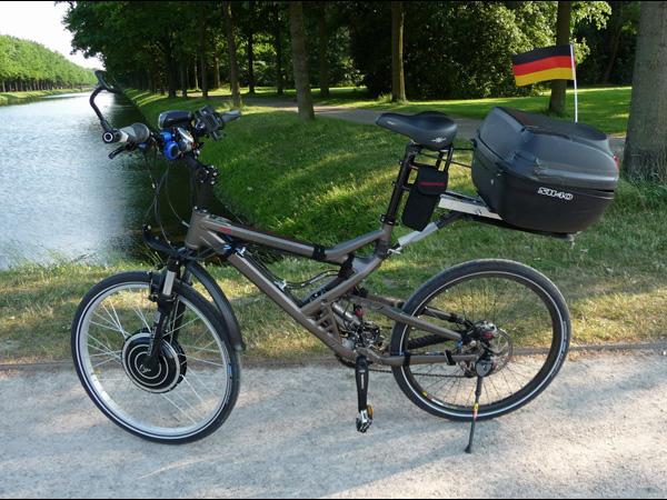 мотор колесо на детский велосипед