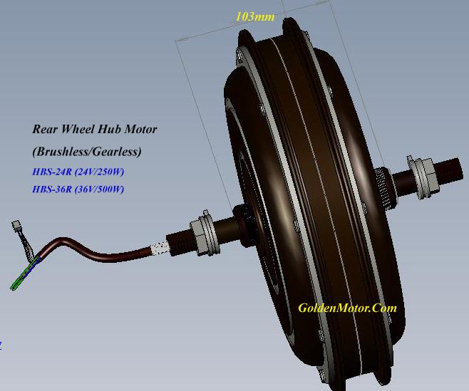 How To Make An Electric Motor >> hub motor, brushless dc motor, electric bike,power wheelchair,bike conversion kit