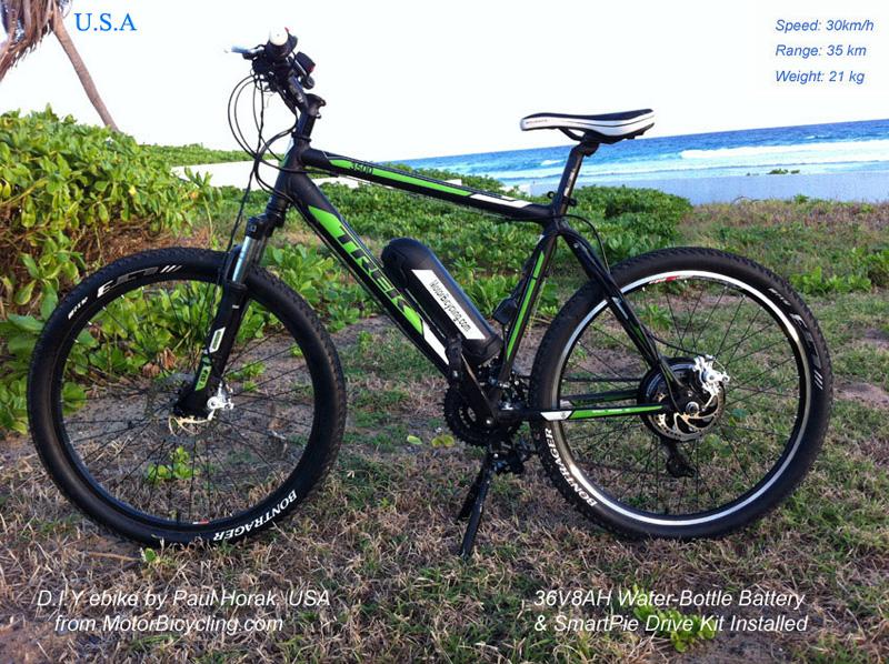 Bike conversion kits hub motor magic pie edge lifepo4 for Best bike hub motor