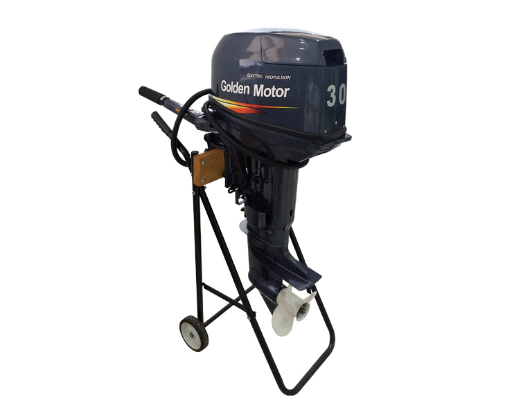 Electric propulsion outboard outboard teleflex control for Electric outboard motor conversion