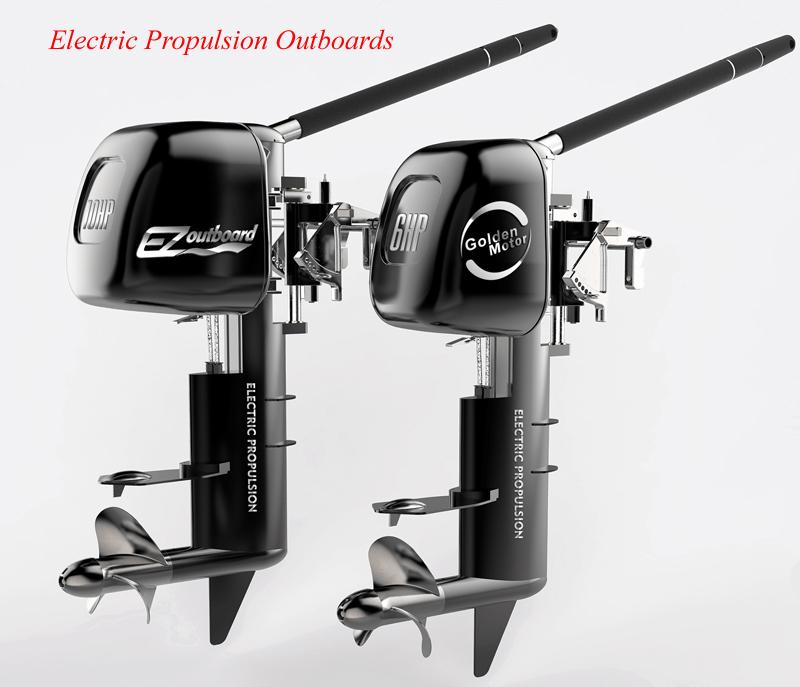 Electric Outboard Motor Kit: Hub Motor,brushless Dc Motor,power Wheelchair,foldable