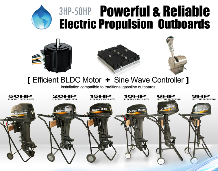 Electric propulsion outboard, electric outboard conversion, outboard conversion kit, electric boat engine, Electric boat conversion, electric outboard, electric outboard motor, electric inboard motor
