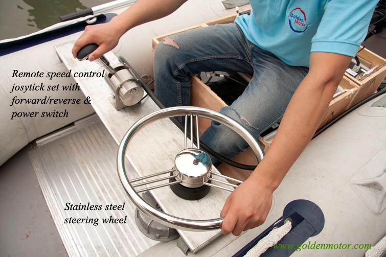 Electric Propulsion Outboard Outboard Teleflex Control