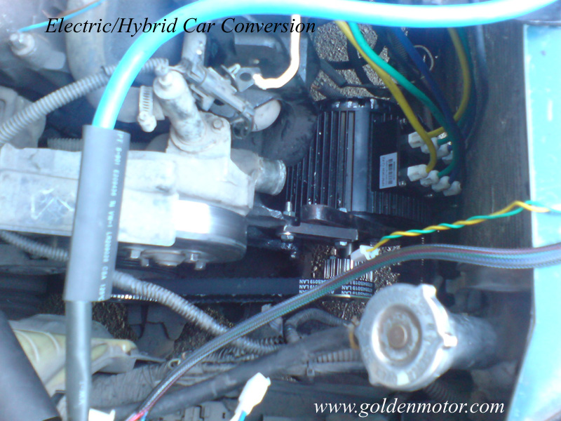 Hybrid Car Kit Electric Motor Conversion