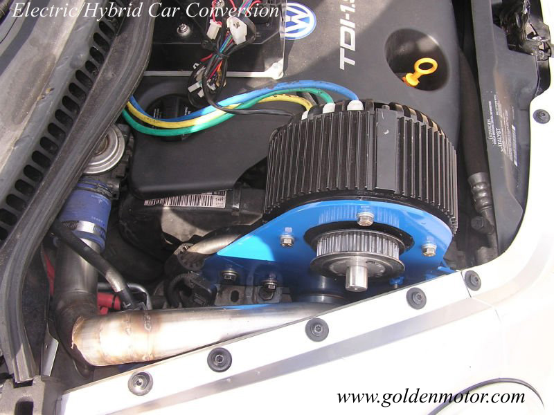 Electric Motorcycle Motor Car Hybrid Conversion