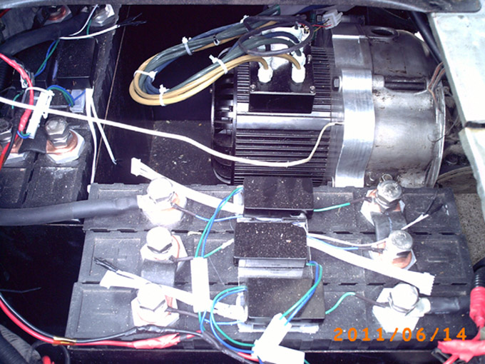 10 20kw Brushless Motors For Electric Cars