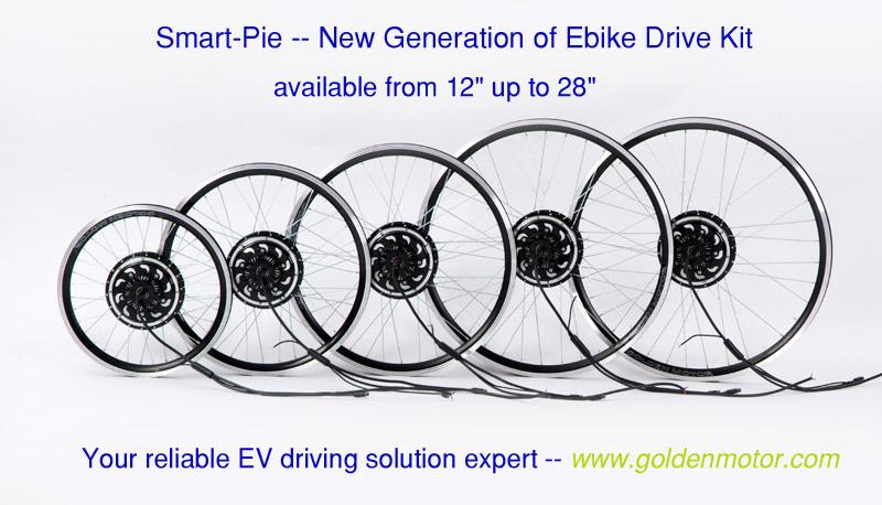 Bike Conversion Kits Hub Motor Magic Pie Edge Lifepo4
