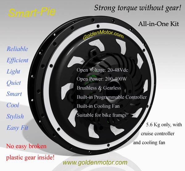 Busco motor delantero con freno regenerativo, bueno, pequeño y barato si puede ser Smart-Pie