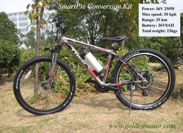 Bike Conversion Kits, Hub Motor, Magic Pie Edge, LiFePO4